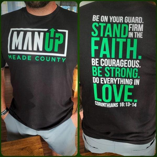 Man Up Tee Shirt